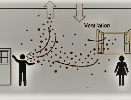 Rôle majeur de la ventilation pour prévenir COVID-19.